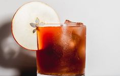 Happy New Year, Honey - Hard Cider, Apple Brandy, Blood Orange Juice, Bourbon, Spiced Honey Syrup (Recipe Included), Apple