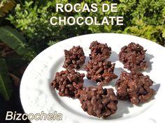 RECETAS Y A COCINAR SE HA DICHO!!!!: ROCAS DE CHOCOLATE