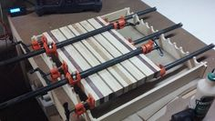 Pipe clamp glue up jig