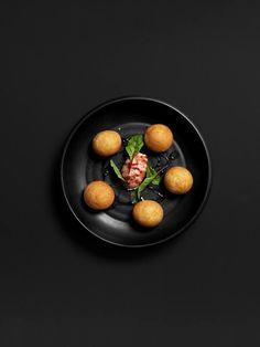 food black background