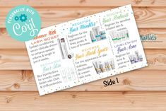 Rodan  Fields Business Card With Skin Care Products image 1 Consultant Business, Independent Consultant, Rodan And Fields Business, I Sent You, Chalkboard Signs, Marketing Materials, One Sided, Teacher Appreciation, Business Cards