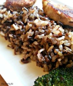 Nothing is better than a delicious side of this Easy Wild Rice Pilaf to your favorite grilled steak and steamed veggies!