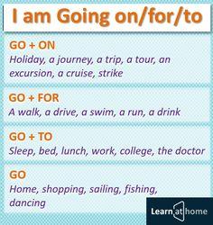 I am Going on/for/to - Я собираюсь куда-то #english #vocabulary #английский