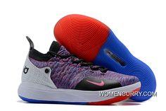 buy popular 1b178 49660 Nike KD 11 Black White-Multicolor Men s Size New Year Deals. Buy BasketballWhite  Basketball ShoesNew ...