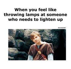 Yep. Especially when they don't like narnia