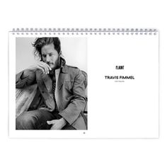 Travis Fimmel  Flaunt Calendar by MovieShop on Etsy