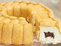 Ciambella senza cottura mascarpone e Nutella cremosa e golosa Nutella, Apple Pie, Cornbread, Italian Recipes, Cheesecake, Cooking, Sweet, Ethnic Recipes, Desserts
