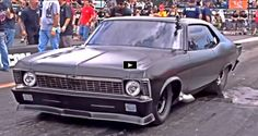 See Street Outlaws New Murder Nova 2.0 vs Shocker Camaro at the Outlaw Armageddon no prep drag racing event.