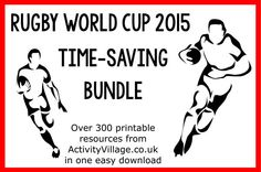 Rugby World Cup 2015 Time Saving Bundle in the Activity Village Shop
