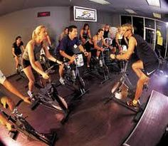 Spin Class! A great way to improve your conditioning without the impact on your knees & other joints.