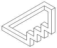 Черно-белые фигуры [471-480] - Невозможный мир