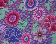 Kaffe Fassett DREAM in PURPLE Spring 2015 Collection PWGP148 Westminster Fabric 1/2 yard Cotton, Quilt Craft and Apparrell fabric