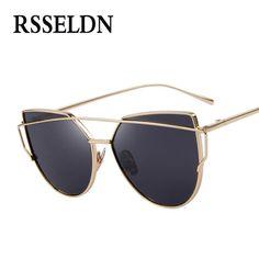 $1.89 (Buy here: https://alitems.com/g/1e8d114494ebda23ff8b16525dc3e8/?i=5&ulp=https%3A%2F%2Fwww.aliexpress.com%2Fitem%2FFashion-Sunglasses-Women-Popular-Brand-Design-Polarized-Sunglasses-Summer-Retro-Classic-Men-s-And-Women%2F32744392608.html ) RSSELDN Newest Fashion Cat Eye Sunglasses Women Luxury Brand Retro Style Sun glasses Female Pink Mirror oculos de sol feminino for just $1.89