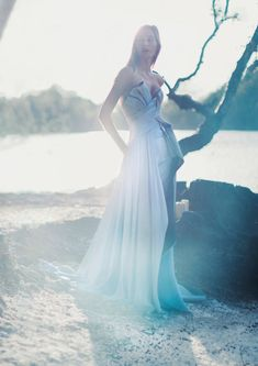 Wintery wedding vibes and stunning gowns.Josephine Le Tutour by Alexandra Sophie for Harper's Bazaar UK January 2017. Follow us: @kwhbridal