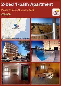 2-bed 1-bath Apartment in Punta Prima, Alicante, Spain ►€69,950 #PropertyForSaleInSpain