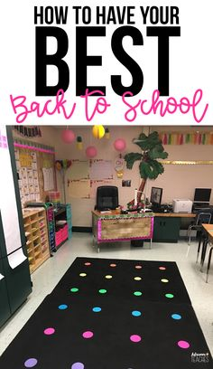 Have your best back to school season with these 7 tips and hacks for classroom management, set up, and organization! #backtoschool #morningwork #classroommanagement #classroomorganization