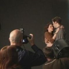 Bella and Edward Behind the Scenes