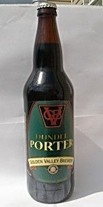 Dundee Porter - Golden Valley Brewery & Pub