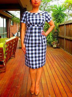 Butterick 5603 misses dress Retro