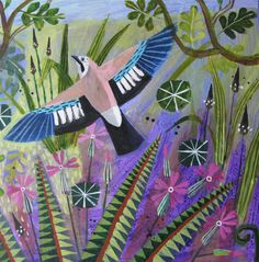 'Jay' by Mary Sumner - part of FAUNA 2015 at gallerytop opening on Saturday 9 May