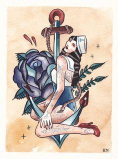 sailor+tattoos   devoted purely to wishlist shipi purchased sailor tattoos studi wv