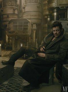 Benicio del Toro by Annie Leibovitz