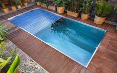 privátní bazén, skimmerový bazén, nerezový bazén, solární roletové zakrytí, odpočívadlo, protiproud, Slovensko Mendoza, Swimming Pools, Most Beautiful, Spa, Outdoor Decor, House, Stainless Steel, Cover, Home Decor