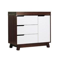 Babyletto Hudson Espresso/ White 2-tone Changer Dresser