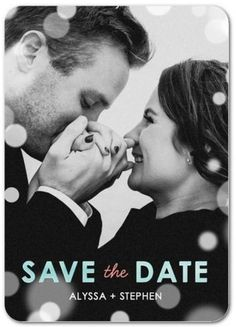 Wedding tip: Send your save the dates 6 months before your big day. This gives guests plenty of time to arrange their travel. | Picture yourself while browsing our save the dates. With Wedding Paper Divas My Photo feature you can see your favorite pic in every design at once.