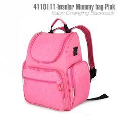 4110111-Insular Mummy Bag Backpack -Pink