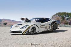 EXCLUSIVE: Danny Rowe's New Pro Mod C7 Corvette