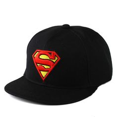 2017 Fashion S Superman Hip-Hop Baseball Cap Adjustable Snapback Cap Hat New  Era Hats 0700e8314a2