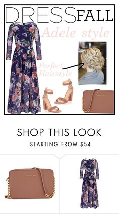 """Adele Style"" by tshainafashion ❤ liked on Polyvore featuring Michael Kors and Gianvito Rossi"