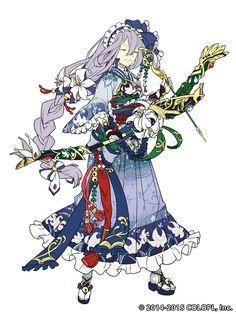 白猫温泉物語〜ゆらり、湯気で逢えたら〜 特設サイト|白猫プロジェクト Character Creation, Character Concept, Character Art, Concept Art, Anime Kunst, Anime Art, Fan Anime, Anime Style, Pretty Anime Girl