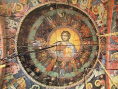 Teofan Cretanul – icoana Tempera, Fresco, Byzantine Icons, Orthodox Icons, Mural Painting, Kirchen, Spirituality, Interiors, Art