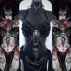 Enchantress (Top/ Headband ONLY) - Rave wear, rave outfit, edm, edc, festival…