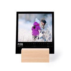 Calendar in Wooden Block