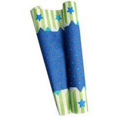 Paper Eskimo Blue Stars Table Runner