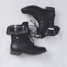 Black Combat Boots - I caved and bought some 2 weeks ago. Wore them yesterday and now I'm hooked.