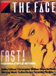 Madonna The Face Magazine 1985 ★rare★ |http://stores.ebay.com/madonnamaniamemorabilia