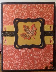 CTMH swan lake paper with the September SOM. Thanks Miss Carrie for the inspiration.