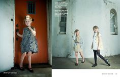 right bank babies dresses via Babiekins Magazine issue 10