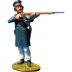 NP 353 East Prussian Landwehr firing