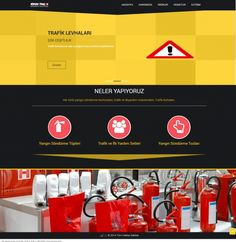 Adasan Yangın Söndürme Cihazları Ben yaptımmmm ^^ #webtasarim #webdesigner #asfaltmedya