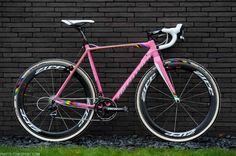 Zdenek Stybar's pink Specialized Crux cyclocross bike. ©Specialized