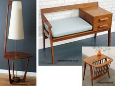 Muebles de inspiración vintage