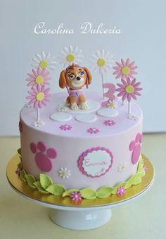 Torta Paw Patrol Skye rosa pink