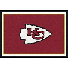 Milliken 4000095152 Kansas City Chiefs NFL Team Spirit Area Rug 310 x 54 Multicolored -- Click on the image for additional details.