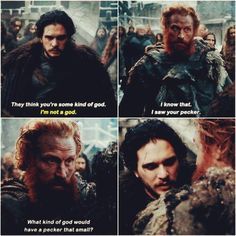 Jon Snow and Tormund http://ift.tt/1TPyVuI