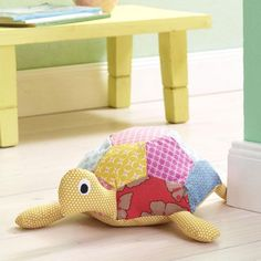 Wir nähen uns ein Heim voller Tiere Schildkröten Anleitung und schnitt